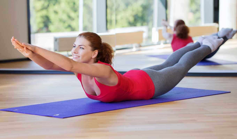 фитнес, йога, девушка, workout, pilate, колготки, поза, упражнение, sexy, sports, растянувшийся