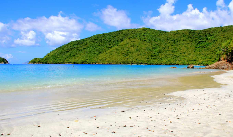 caribbean, пляж, maho, санкт, martin, остров, jpeg,