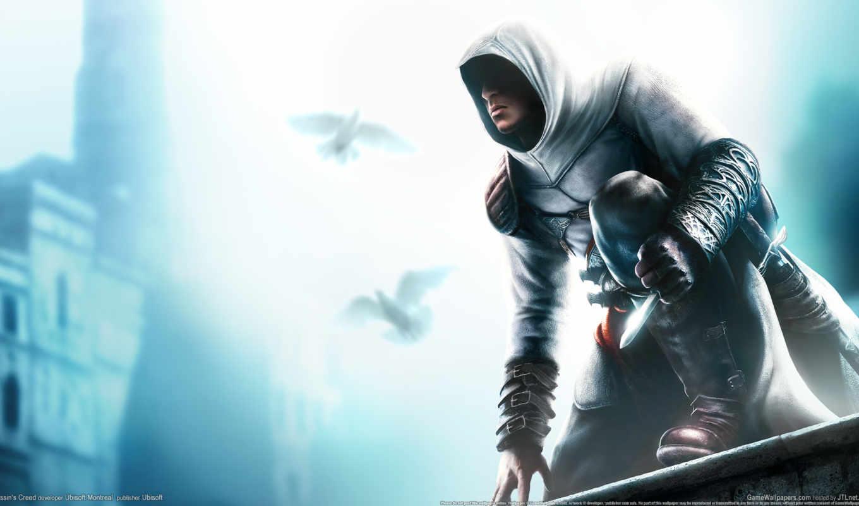 creed, assassin, игры, assassins, муалим, аль,