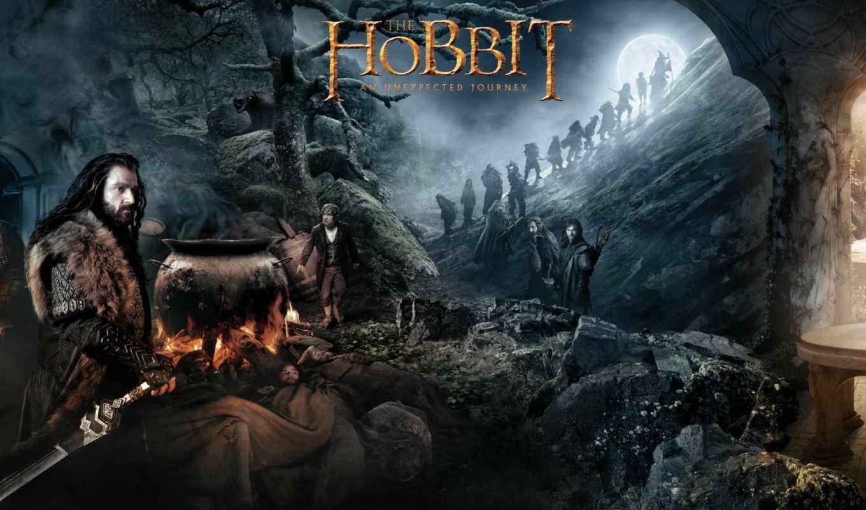 hobbit, art, колец, властелин, journey, пять, битва, armies,
