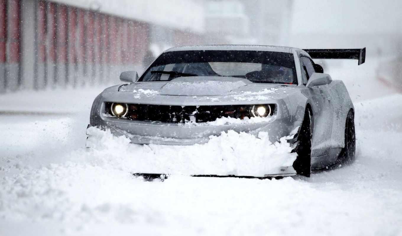 chevrolet, snow, winter,