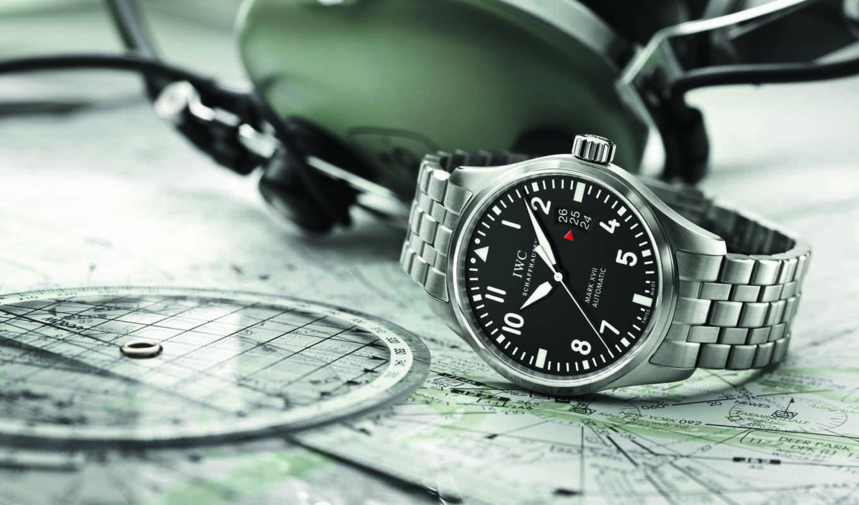 iwc, пилот, watch, pilots, xvii, chronograph,,