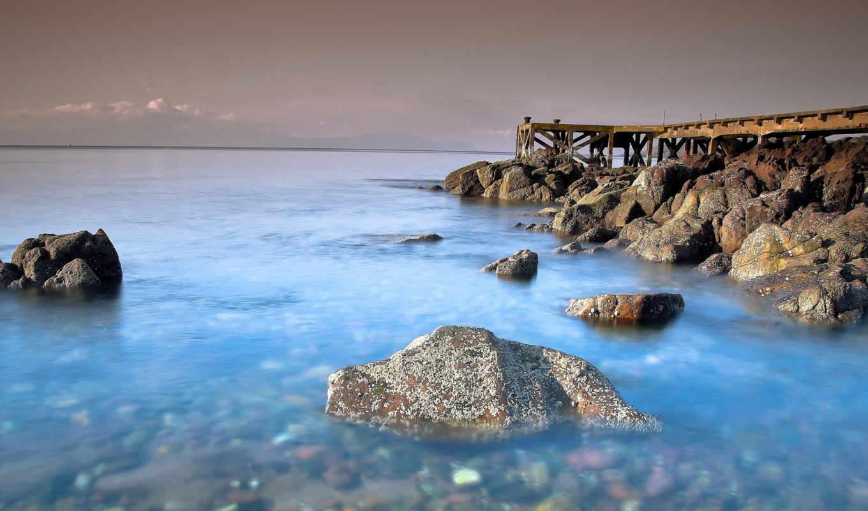 море, моря, берег, природа, камни, пляж, песок,