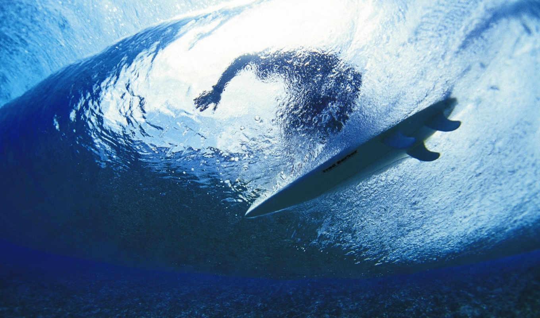 сёрфинг, спорт, картинка, волна, ocean, sea, underwater, desktop, воды, под, тегом,