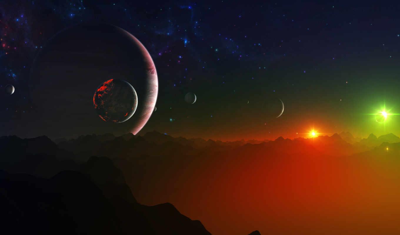 космос, планета, звезда, галактика, outer, картинка, sky, night, strange,