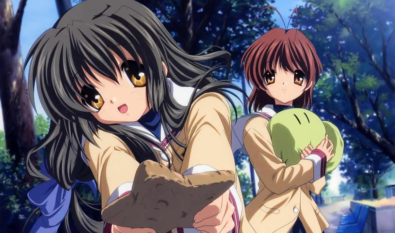 clannad, anime, после, more, story, see, об, nagisa, fuko,