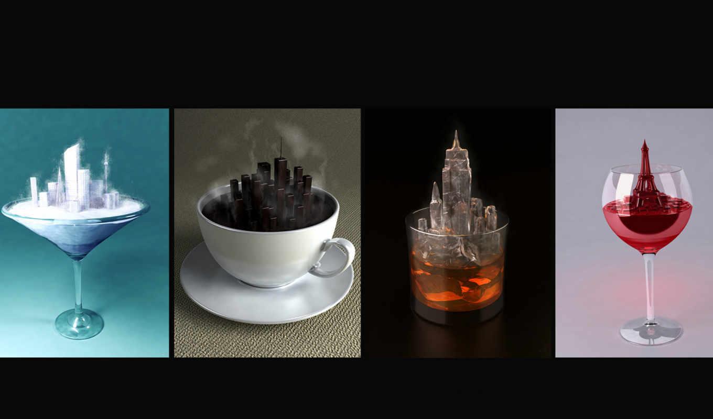 рюмка, город, креатив, напитки, чаша, bac, timeline, cover,