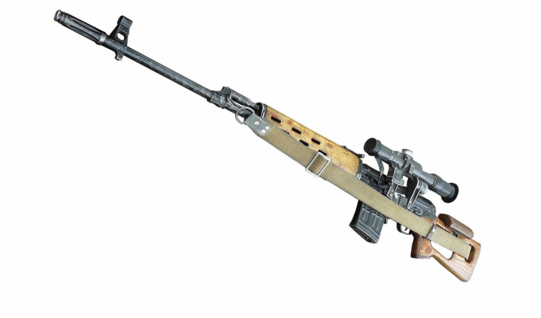 оружие, винтовка, СВД, оптика, ремень