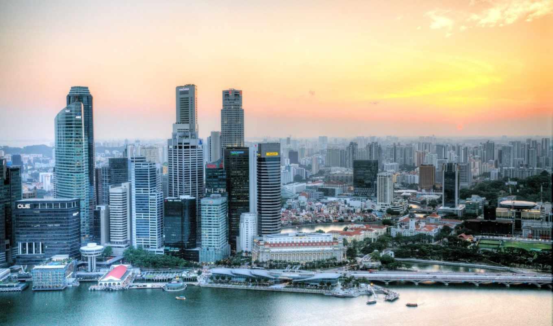 singapore, широкоформатные,