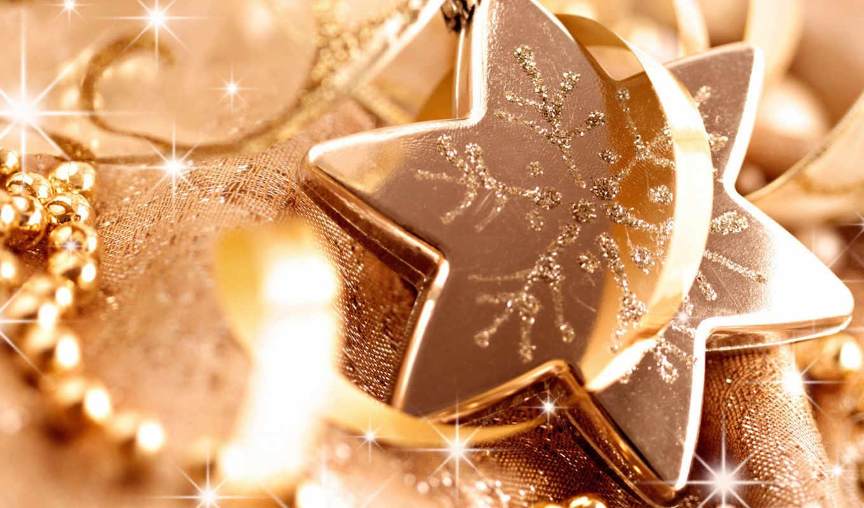 новый, звезда, праздничные, звёздочки, снежинки, год, добавил, звёздочка, снежинка, мишура, christmas, бронзовая,