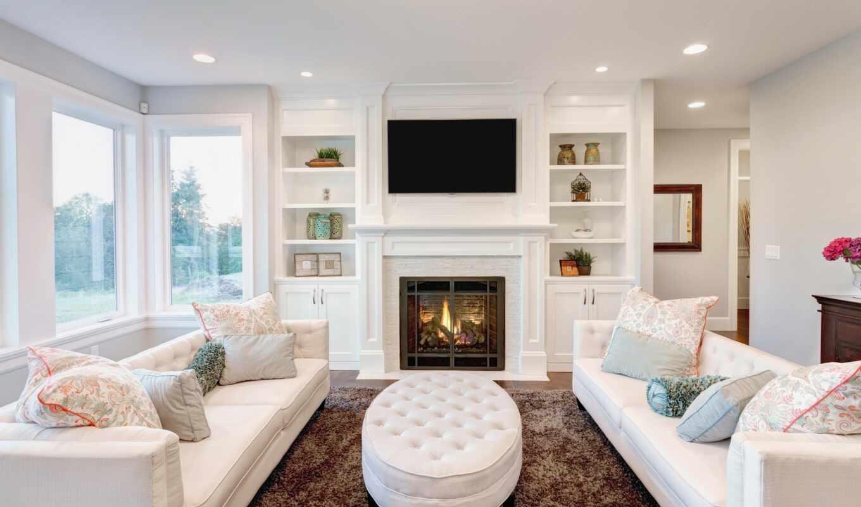 комната, living, home, интерьер, семья, показать, homes, design, традиционный,