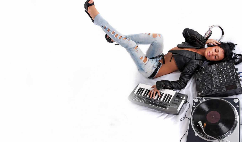 музыка, девушка, фон, предпросмотр, chill, песни,