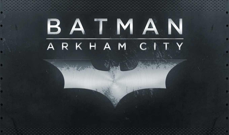 batman, город, arkham,