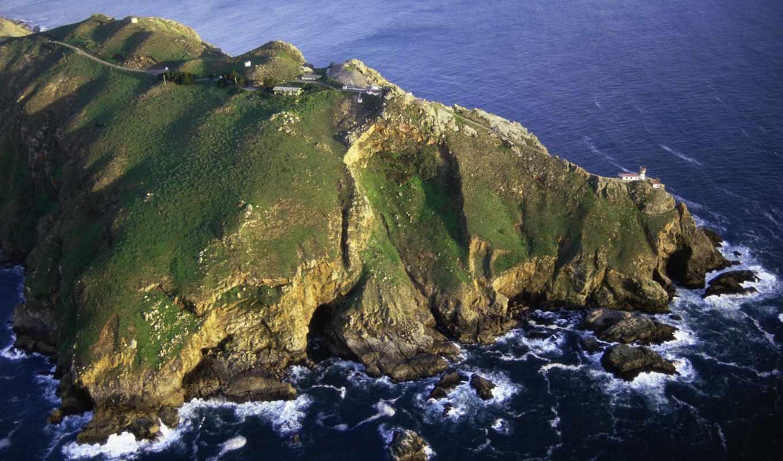 море, point, reyes, природа, страница, побережье, lighthouse, моря, san, бассейн,