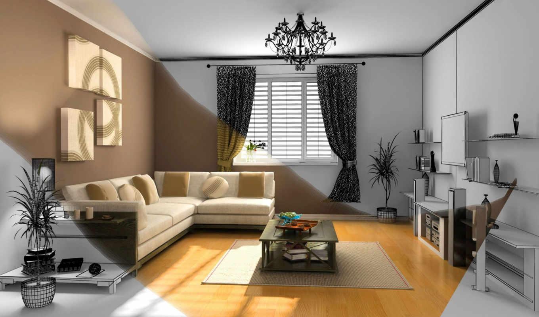 peinture, decoration, des, салон, pour, une,