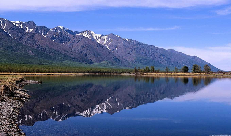 байкал, озеро, моря, reki, russian, озера, небо, природа, свой, совершенно, картинка,