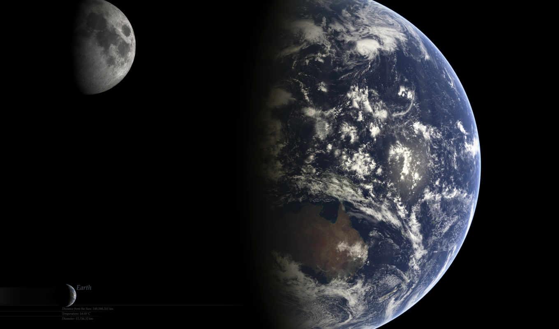 земля, луна, космос, смотрите, zeusbox, монитора, экрана, похожие, номером,