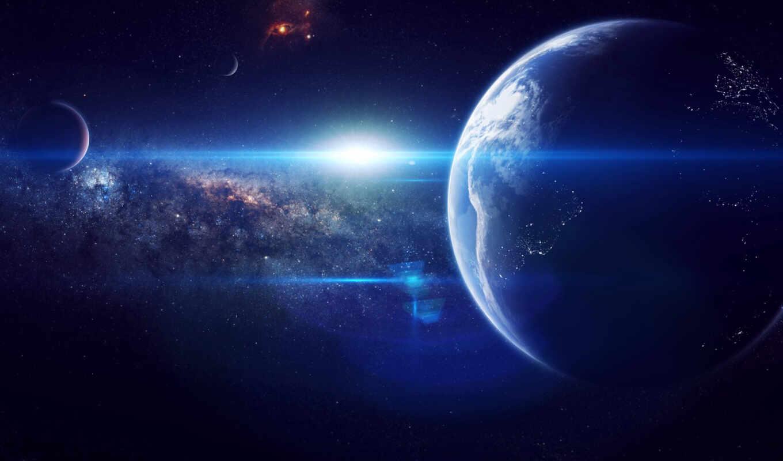 космос, земля, планета, звезды, art, разделе,