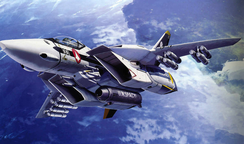 macross, desktop, 軍用機のhd壁紙, anime, 戦闘機のアニメ,