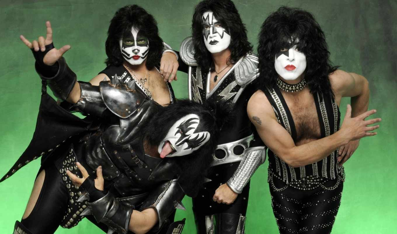 rock, группа, поцелуй, музыка,