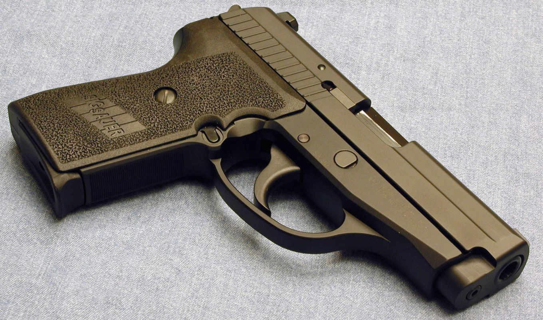 пистолет, ствол, оружие,