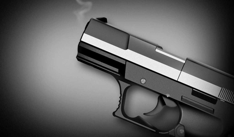 пистолет, оружие,