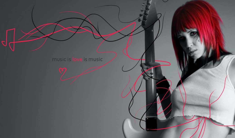 music, love, любви, музыке, девушка,