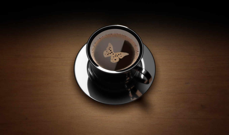 кофе, бабочка, facebook, чашка, еда, кружка, kapak, рисунок, quality, бабочкой, напитки, бабочки, пенкой,