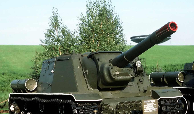 , техника, россия, ису-152, ствол,
