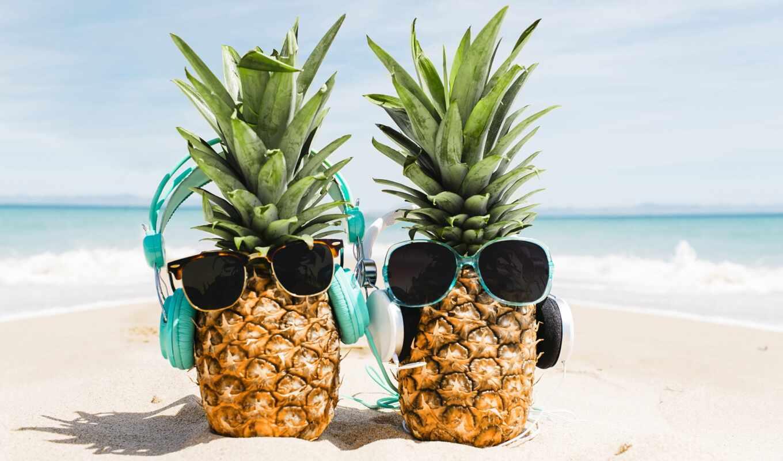 пляж, chelyi, караоке, pineapple, point, sunglasses, море, summer, отдых