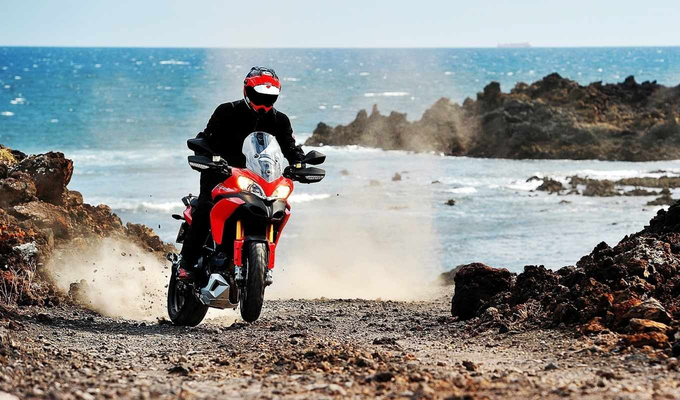 multistrada, ducati, motorcycle, widescreen,