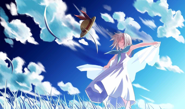 аниме, sky, wings, breath, heart, wind, possible, изображение, duplicate, фабрика, картинок, picsfab, ova, город, minori,