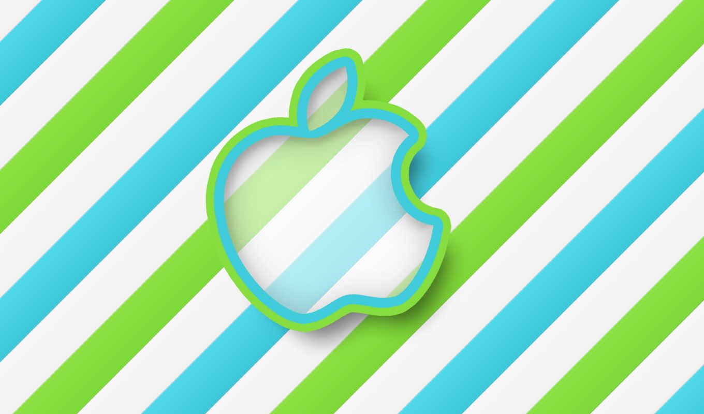 apple, бренды, blue,