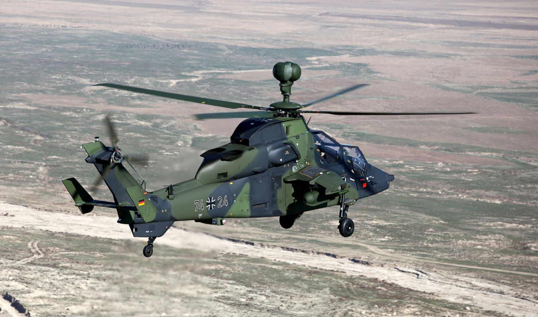авиация, вертолет, eurocopter, небо, полёт
