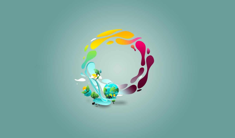 gaia, минимализм, круг, bauer, one, marius, download, digital, images, new, background, art, desktop, semaine, ipad, logon, retina, cycle, est, hydrologic, twitter,