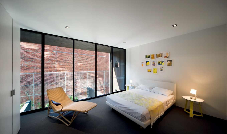 кровать, спальня, интерьер, architects,
