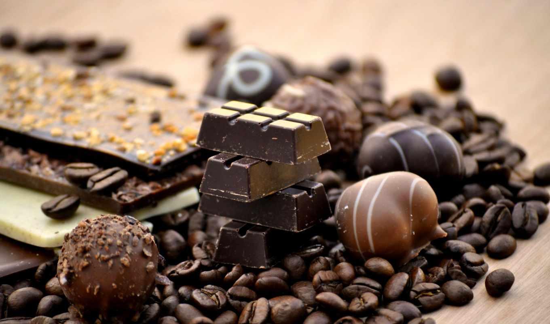 coffee, chocolate, зерно, аромат,