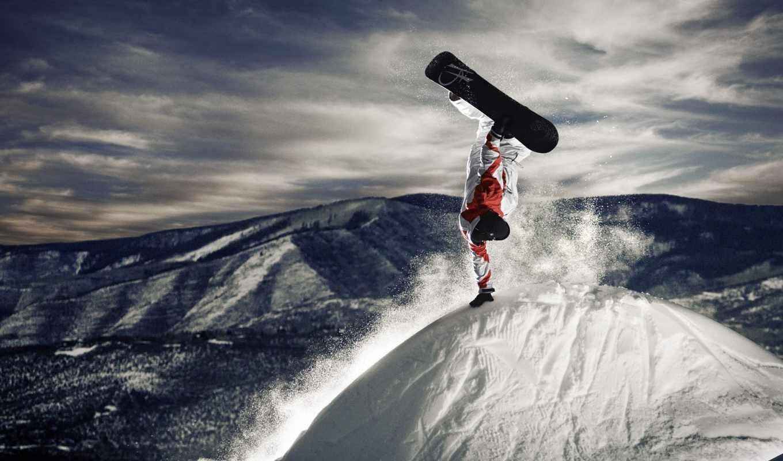 снег, сноуборд, зима, snowboarding, картинка, смотрите, картинку, download, кликните, full, view,