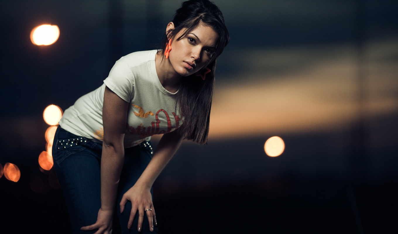 девушка, brunette, грустный, птица, cage, tattoos,