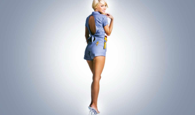 девушка, картинка, sara, жан, blonde, ключ, girls, модель, underwood,