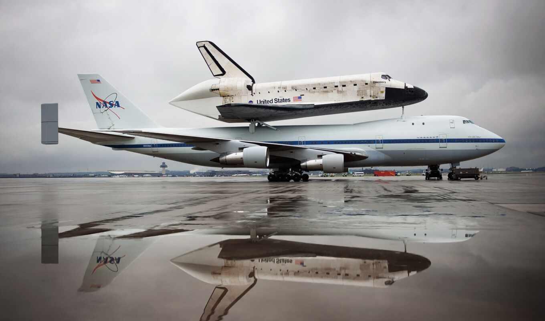 shuttle, discovery, космос, nasa, rocket, самолёт