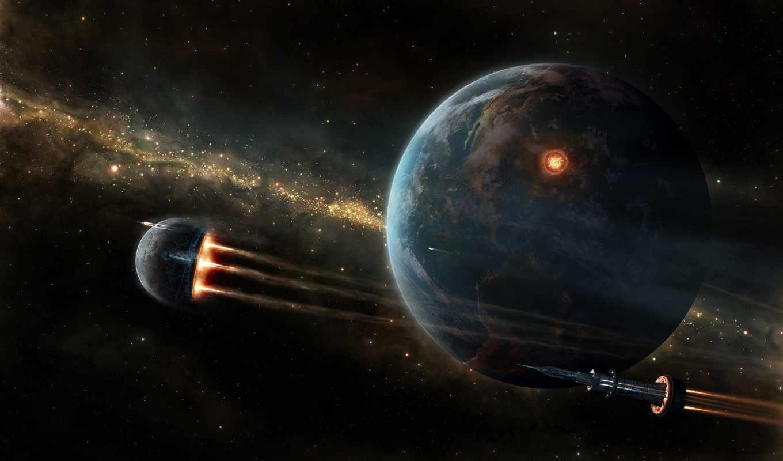 обои, фото, космос, космический, планета, обоев, к