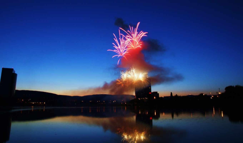 fireworks,