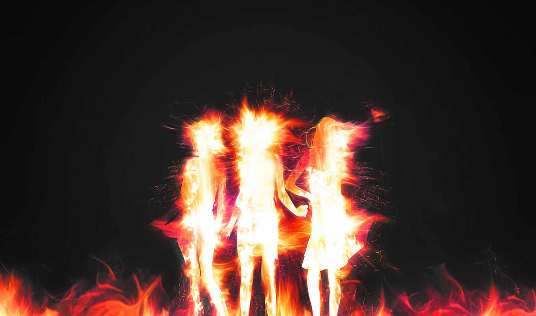 огня, images, огонь, dance, девушка, манящий,