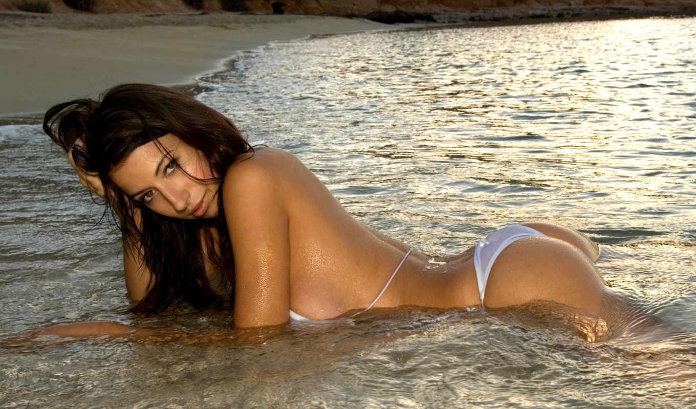 бикини, devushki, пляже, девушка, море, красивые, girls,