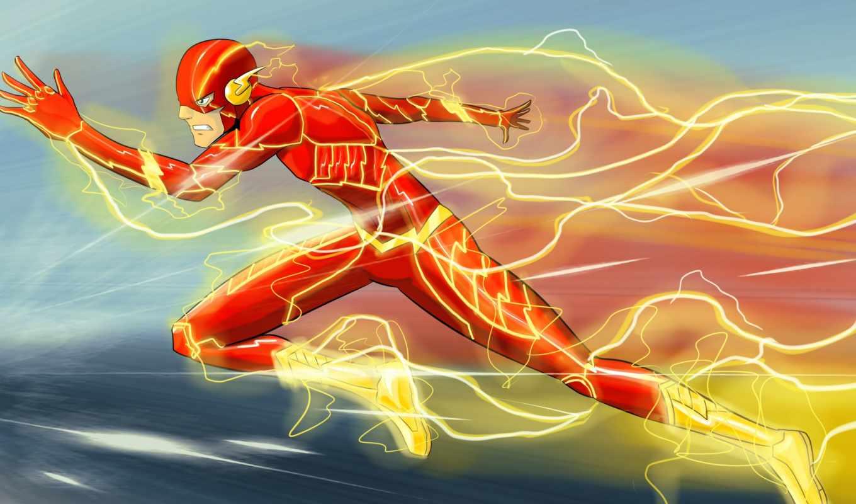 flash, art, comics, скорость, peinture, живопись, дешевые, картины,