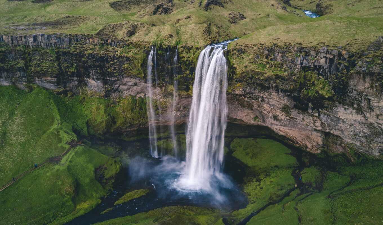 seljalandsfoss, водопад