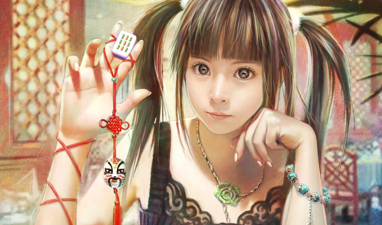 девушка, красивый, азиатка, cute, japanese, anim, pretty, game, брелок, alive, яркий