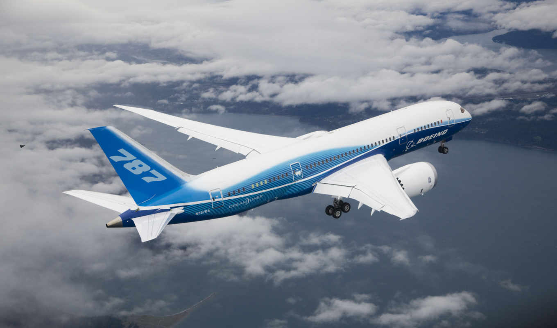 boeing, dreamliner, полет, dreamline, облака, картинка, avion, del, offerte,
