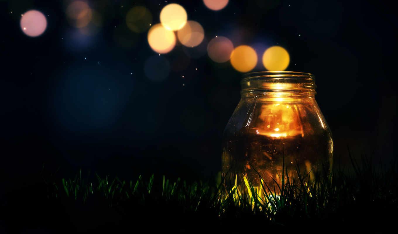 ночь, трава, one,